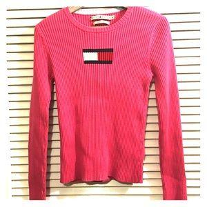 Tommy Hilfiger Vintage Logo Thick Knit Sweater